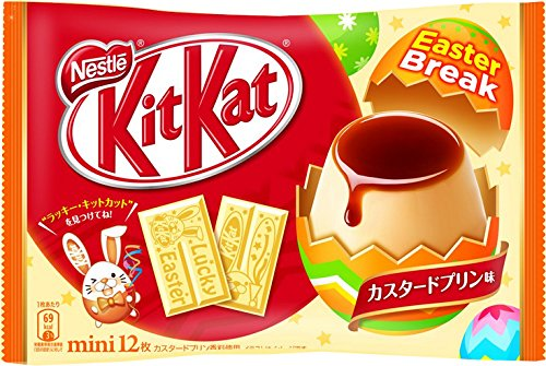 Kit Kat Custard Pudding Easter 2017 Edition 12 pcs: Amazon.es: Alimentación y bebidas