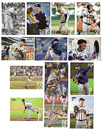 Amazon.com: 2018 Stadium Club - ATLANTA BRAVES Team Set