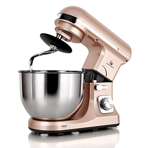 Electric Stand Mixer With Removable Head ~ Murenking professional stand mixer mk w qt bowl