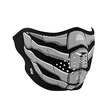 ZANheadgear Neoprene Full Face Mask, Vampire, Glow in the Dark WNFM067G