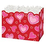 Burton & Burton Ombre Hearts Die Cut Box, Small, 6