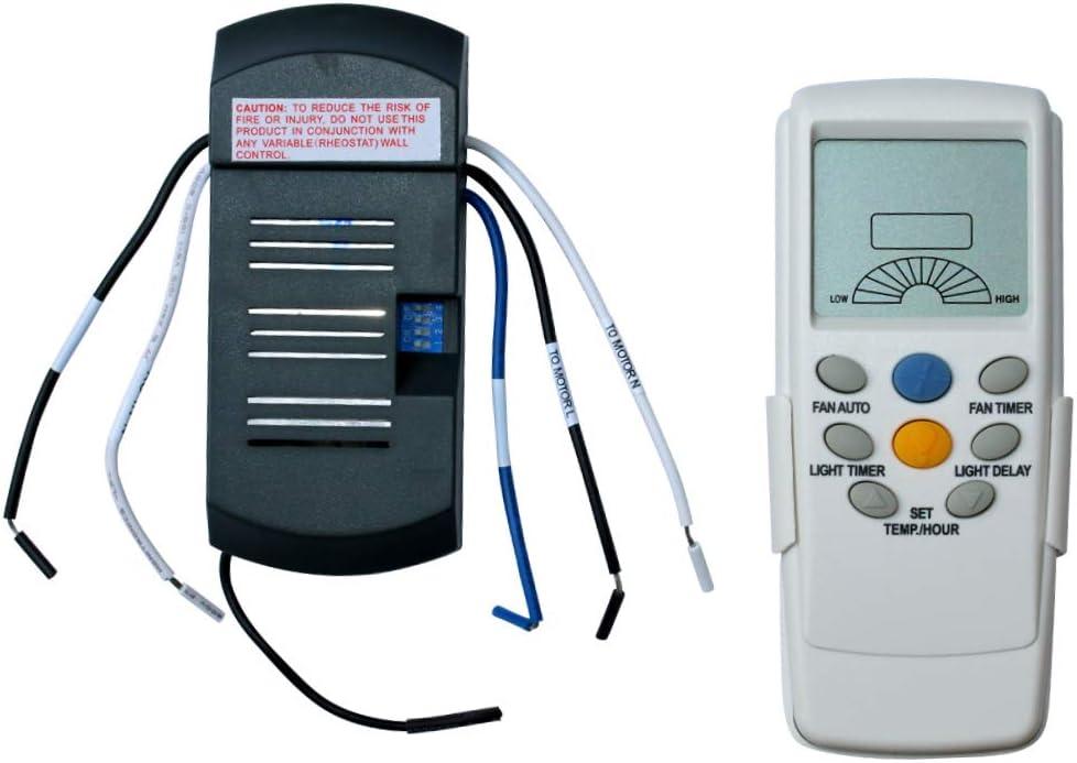 Ventilador de techo termostático para mando a distancia Universal ...