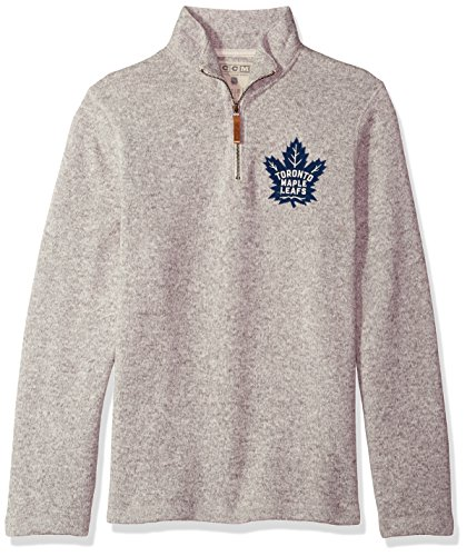 adidas NHL Tampa Bay Lightning Mens CCM L/S Crewccm L/s Crew, Medium Grey Heathered, Medium