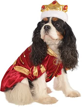 Rubie's Pet Costume, Small, Red King