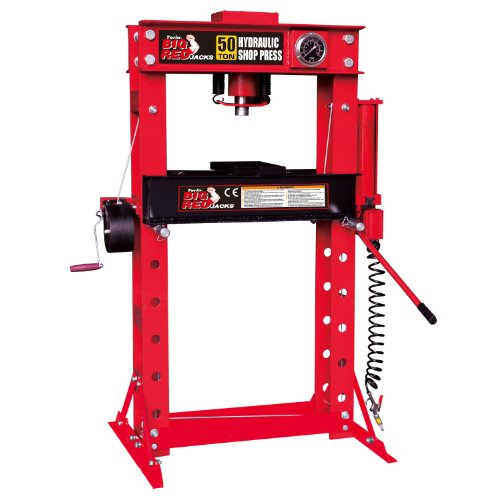 50 Ton Hydraulic Shop Press (Torin Big Red TRD55002 Steel Frame Hydraulic Shop Press, 50 Ton Capacity)