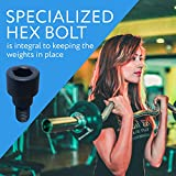 2-Pack Hex Bolts for Olympic Bars / Olympic Bar