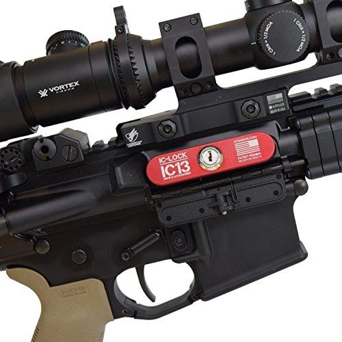 IC-Lock Ejection Port Gun Lock for AR15