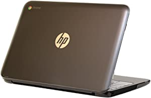 "iPearl mCover Hard Shell Case for 11.6"" HP Chromebook 11 G4 laptops (Part no. P0B78UT / P0B79UT) (Also Compatible with Previous G2 / G3 Models) (Clear)"