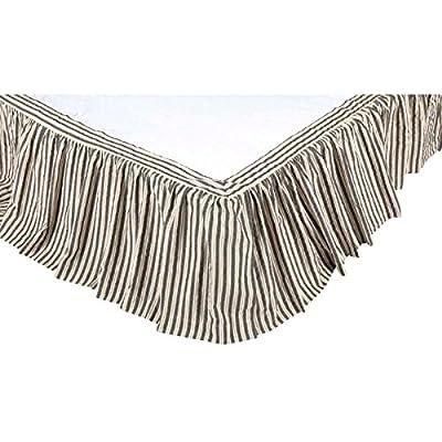 VHC Brands 23363 Ashmont Queen Bed Skirt 60x80x16