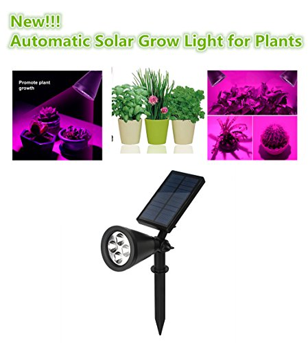 Solar Powered Outdoor Grow Lights