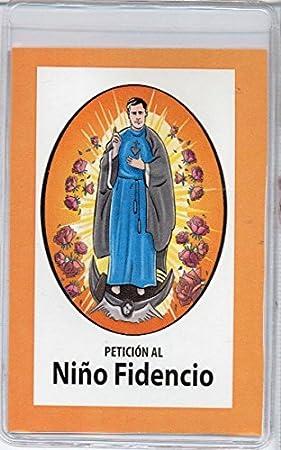 Amazon.com: Novena al Niño Fidencio, el Niño Médico que Sane el Cuerpo de toda Enfermedad. (Corazón Renovado): Laila Pita: Home & Kitchen