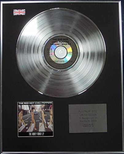 /The Abbey Road EP /Limited Edition CD Platinum Disc/ Red Hot chili Peppers/
