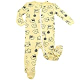 Silkberry Baby Bamboo Footie Sleeper Mouse 0-3m
