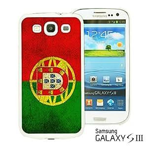 OnlineBestDigitalTM - Flag Pattern Hard Back Case for Samsung Galaxy S3 III I9300 - Portugal