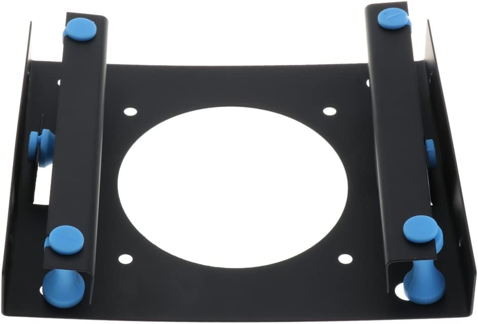 Almencla 3.5 to 2.5 SSD HDD Metal Adapter Mounting Bracket Hard Drive Holder Blue