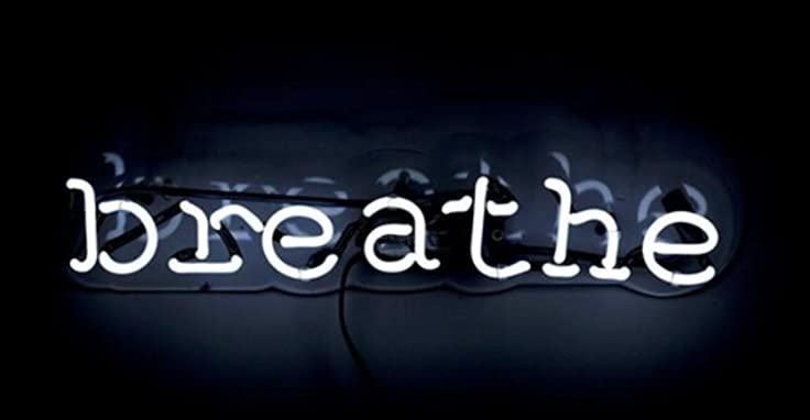 Breathe neon art sign 1714 inch real glass neon signs custom breathe neon art sign 1714 inch real glass neon signs custom designed neon aloadofball Choice Image