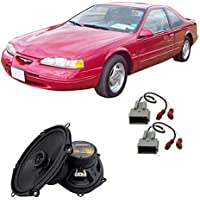 Fits Ford Thunderbird 1989-1997 Front Door Factory Replacement Harmony HA-R68 Speakers