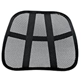 Lumbar Support for Office Chair Omni Extra Comfortable Adjustable Breathable Cool Black Mesh Lumbar Back Support Fit All Types Office Chair Car Seat