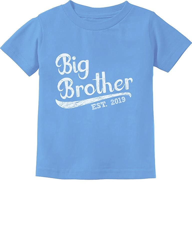 Tstars - Gift for Big Brother 2019 Siblings Gift Infant Kids T-Shirt GaMPthhg75