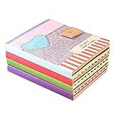 JUJU MALL-Cartoon Notepad Notebook Writing Paper Diary Journal Memo Stationery Gifts