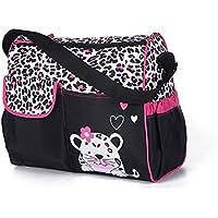 E-Goal Grande capacité multifonction Sac à couches Sac Maman Durable bébé de sac de-Rose Tiger