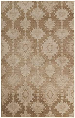 Mohawk Home Larrabee Neutral Area Rug, 8 x10 ,