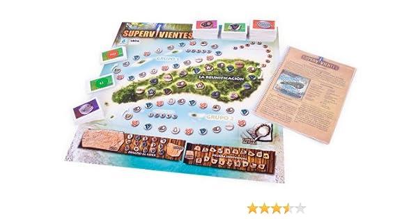 Famosa Juego de Mesa Supervivientes: Amazon.es: Juguetes y juegos