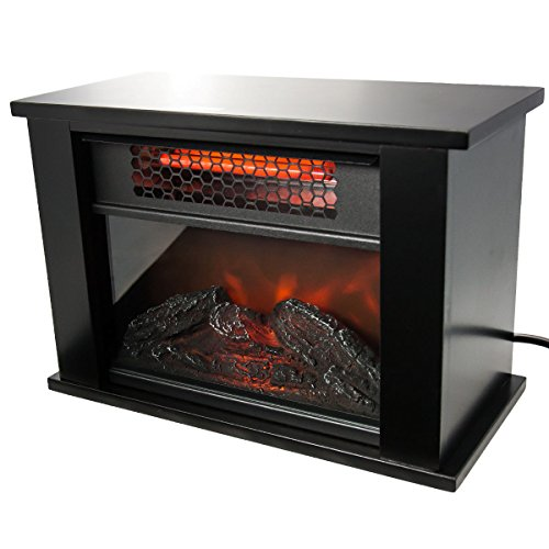 New Life Pro Mini Fireplace Infrared Quartz Electric Space Heater Energy Efficient Puner Store