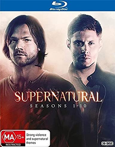 Supernatural: Seasons 1-10 Complete Series Blu-ray Region-Free ...