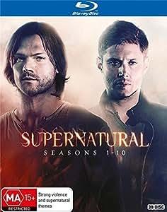 Supernatural: Seasons 1-10 Complete Series [Blu-ray] [Region-Free] [AU Import]