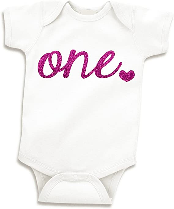First birthday outfit girl personalized glitter namebirthday girlOne year old outfit1st birthday girlglitter birthday shirt1 year
