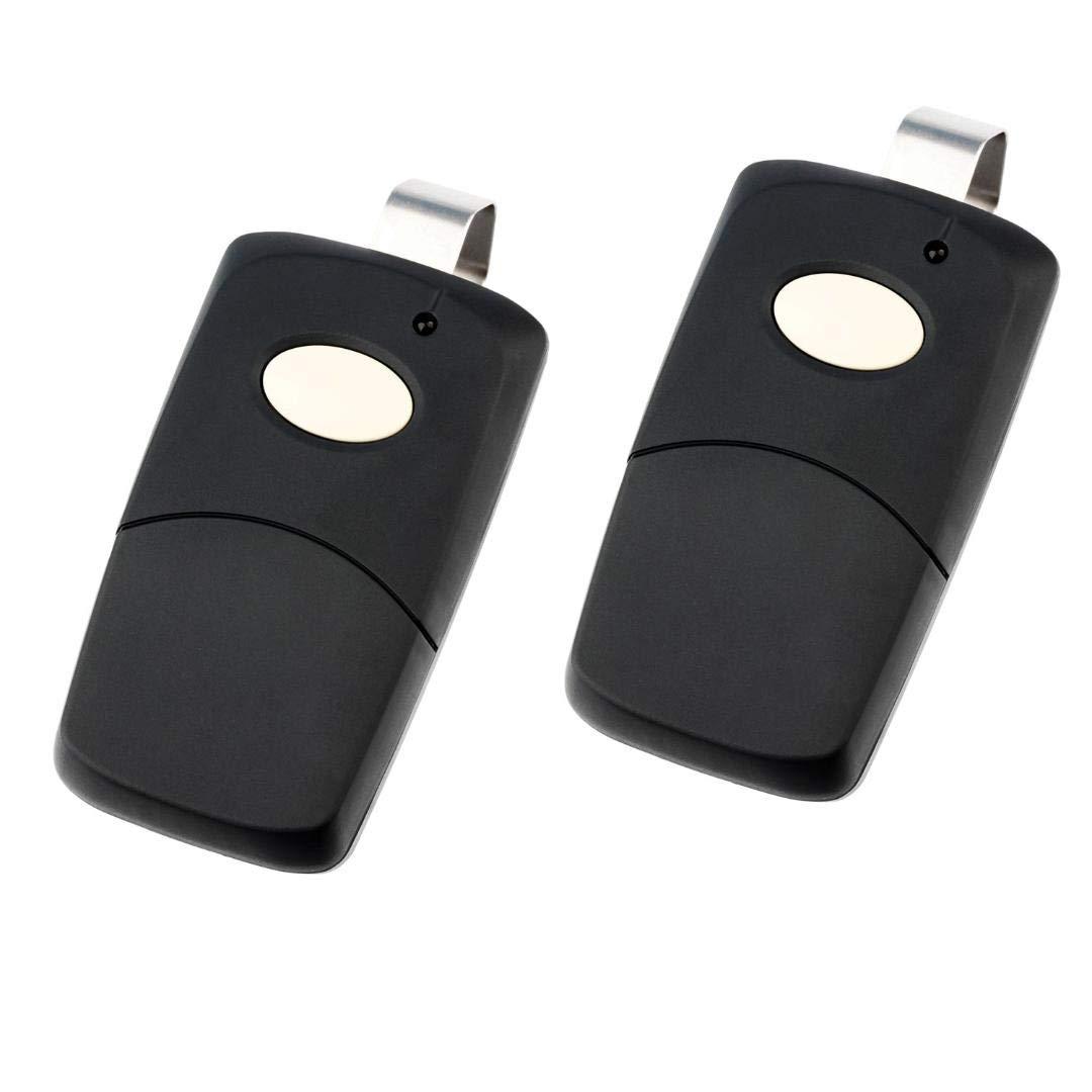 308911, MCS308911 300mhz Black 2 for Multicode Linear 3089 Garage Door Remote Opener