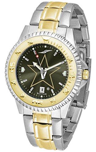Vanderbilt Commodores Competitor Two-Tone AnoChrome Men's Watch