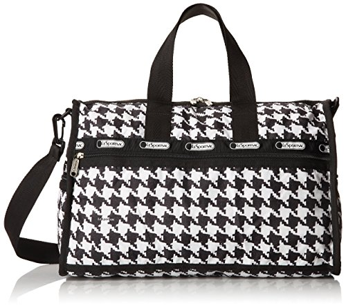 LeSportsac Medium Weekender Duffel Bag (Chic Noir)