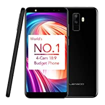 Smartphone 3G Leagoo M9 Display da 5,5 pollici Quad MT6580A Quad Core da 1,3 GHz (F: 5M + 2MP, R: 8M + 2M) 2G + 16G Android 7.0 Impronta digitale posteriore 2850mAh