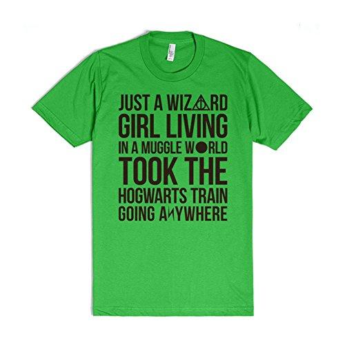 Harry Potter - Just a Wizard Girl T-Shirt
