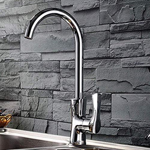 ZJN-JN 蛇口 バスルームのシンクは、スロット付き浴室の洗面台のシンクホットコールドタップミキサー流域の真鍮シンクミキサータップTongyu枕の蛇口キッチンシンク温水と冷水の蛇口単穴シングルハンドルシンクの蛇口をタップ 台付