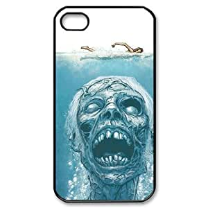 Skull iPhone 4/4s Case Black Yearinspace996210