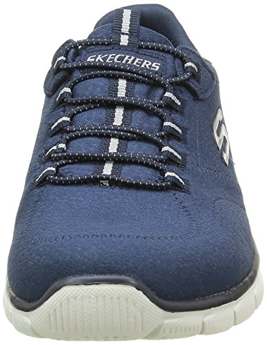 Skechers Damen Empire Take Charge Sneaker Blau (Nvy)
