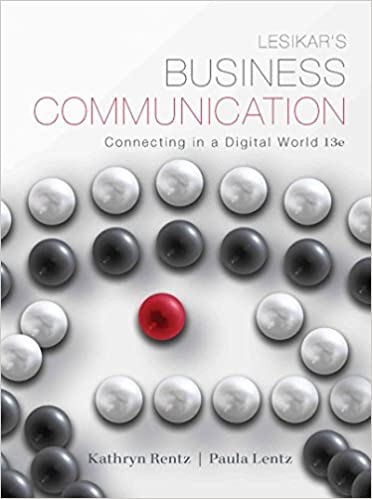 12th pdf lesikars edition business communication
