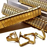 Pinnon Hatch Farms Jiffy Wing Bands Brass