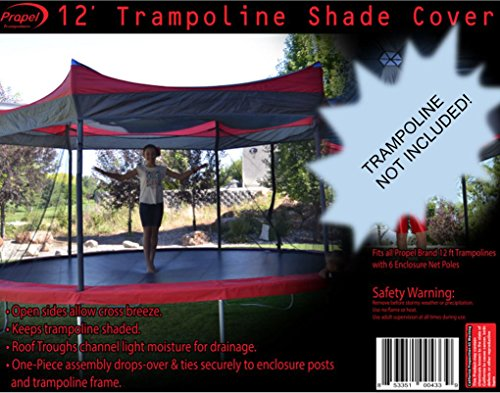 Propel Trampolines Propel Shade Cover, 12', Multicolor (Tent Trampoline Cover)