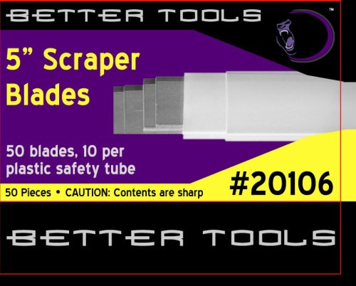 5'' Scraper Blades (50/box) by Better Tools