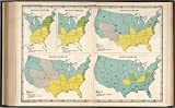 "Map Poster - Plate 123. Reforms. Abolition of Slavery, 1800 - 1863. 11"" x 17"""