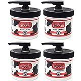 udderly smooth dispenser pump - Udderly Smooth Body Cream Skin Moisturizer, 10-Ounce Jars with Dispenser Pump (Pack of 4)