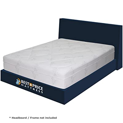 Best Price Mattress 12-Inch Grand Memory Foam Mattress, Queen