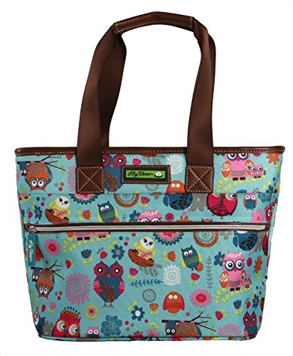 Lily Bloom Luggage Insulated Lunch Tote Bag (Oaly) (Bag Recycled Weekend)