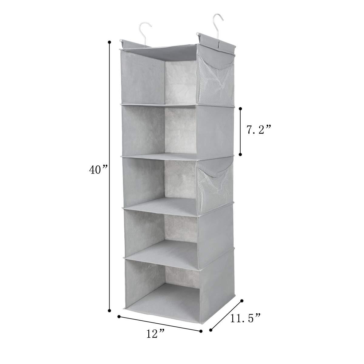 Amazon.com: MAXhouser - Organizador de armario con 5 ...