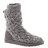 UGG Australia Womens Isla Boot Heathered Grey Size 10