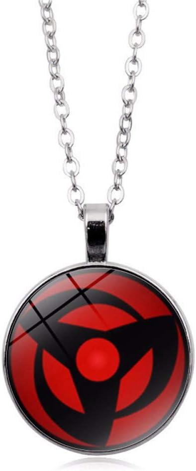 Bosi General Merchandise Naruto, Collar de Piedras Preciosas, Colgante de aleación, Accesorios de joyería, Regalos coleccionables
